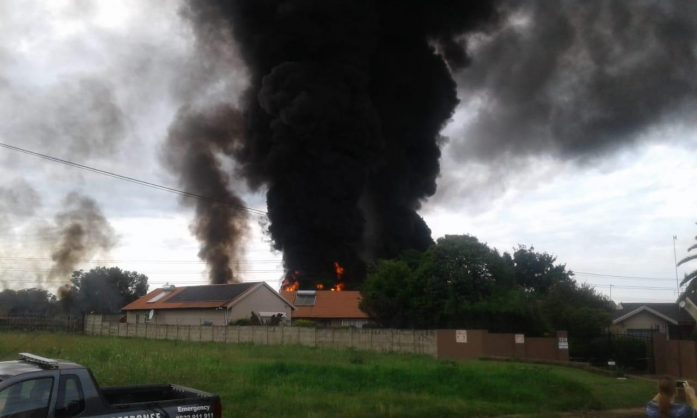 Alberton fuel pipeline fire