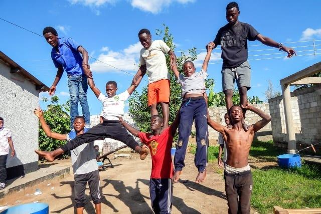 Kids from Chibolya