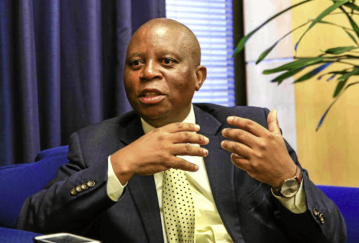 Former Johannesburg Mayor Herman Mashaba.
