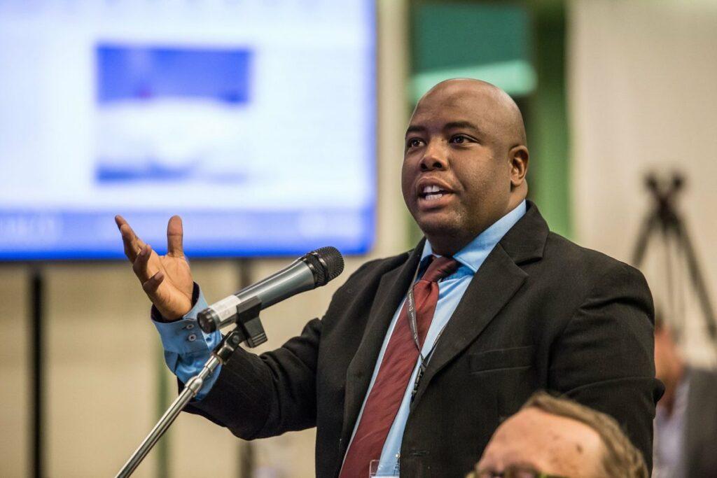 Tshwane Mayor Stevens Mokgalapa.