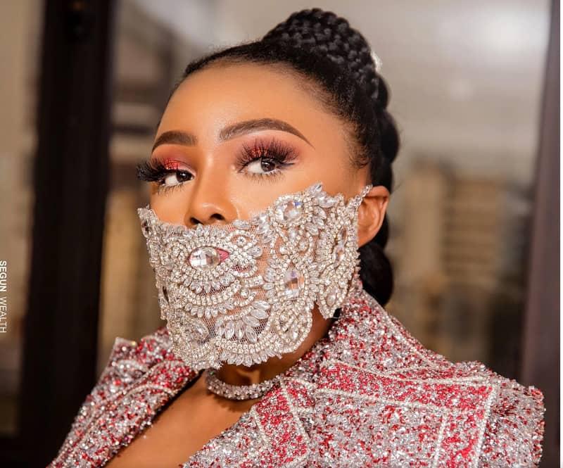Nigeria Coronavirus Fashion Designers Take On Virus With Rhinestone Studded Face Masks Iafrica