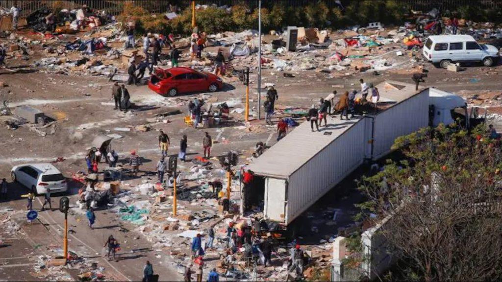 SA civil unrest